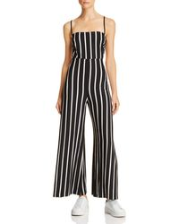 a0c300f64a4 Olivaceous - Strappy Striped Jumpsuit - Lyst