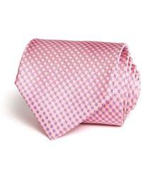 Bloomingdale's - Micro Grid Classic Tie - Lyst