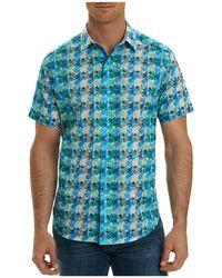 Robert Graham - Ipanema Graphic-print Short-sleeve Sport Shirt - Lyst