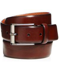 Trafalgar - Matteo French Calf Leather Belt - Lyst