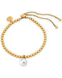 Majorica - Majorca Simulated Round Pearl Bracelet - Lyst