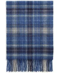 Bloomingdale's - Plaid Cashmere Scarf - Lyst