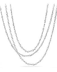 David Yurman - Continuance Chain Necklace - Lyst