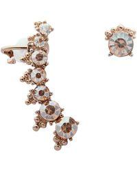 Marchesa - Mismatch Crawler Earrings - Lyst