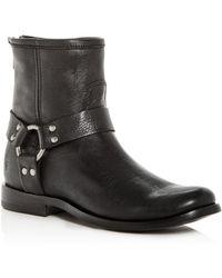 Frye Women's Phillip Leather Moto Boots