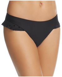 Ella Moss - Sheer Dot Halter Bikini Top - Lyst