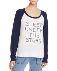 Pj Salvage - Sleep Under The Stars Raglan Top - Lyst