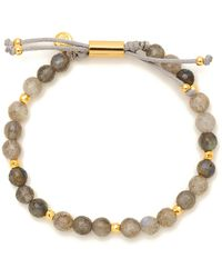 Gorjana - Gold-tone Large Beaded Bracelet - Lyst