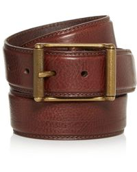 Frye - Logan Leather Belt - Lyst