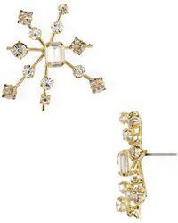 R.j. Graziano - Starburst Stud Earrings - Lyst