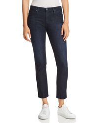 AG Jeans - Prima Ankle Straight Jeans In Monte - Lyst