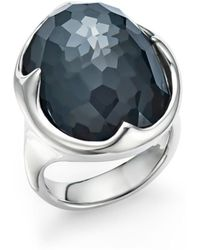 Ippolita - Sterling Silver Rock Candy® Clear Quartz And Hematite Doublet Prince Ring - Lyst