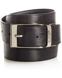 Canali - Reversible Leather Belt - Lyst