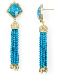 Kendra Scott - Misha Drop Earrings - Lyst