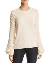 BB Dakota - Blouson-sleeve Sweater - Lyst