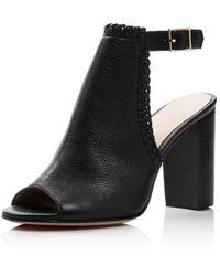 Kate Spade - Women's Orelene Leather High-heel Booties - Lyst