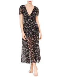 Betsey Johnson - Cherry-print Maxi Dress - Lyst