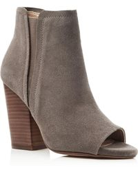 Splendid - Kendyll Open Toe High Heel Booties - Lyst