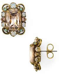 Sorrelli - Cluster Stud Earrings - Lyst