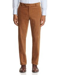 Brooks Brothers - Milano Regular Fit Corduroy Trousers - Lyst