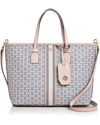 Tory Burch - Small Gemini Link Canvas Tote - Lyst