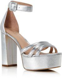 09c306d58f4388 Rachel Zoe - Women s Ella High-heel Platform Sandals - Lyst