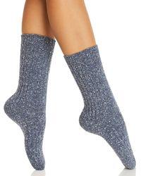 Hue - Ribbed Smart Temp Boot Socks - Lyst