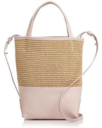 Alice.D - Small Leather Tote - Lyst