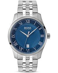 363fcdb60 BOSS Hugo By Hugo Boss Grand Prix Blue Chronograph in Blue for Men - Lyst