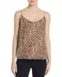 Vince Camuto - Leopard - Print Camisole Top - Lyst