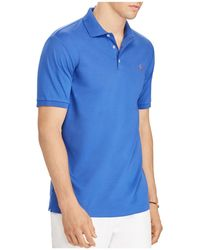 Polo Ralph Lauren - Classic Fit Soft-touch Short Sleeve Polo Shirt - Lyst