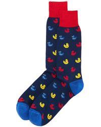 Bloomingdale's - Rubber Duck Socks - Lyst