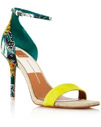 Dolce Vita - Women's Halo Satin High Heel Ankle Strap Sandals - Lyst