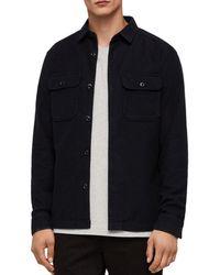 AllSaints - Humboldt Regular Fit Button-down Shirt - Lyst