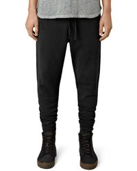 AllSaints - Raven Regular Fit Sweatpants - Lyst