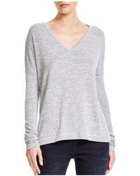Rag & Bone - Theo Long-sleeve V-neck Tee - Lyst