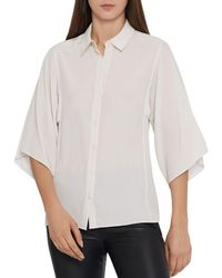 Reiss - Guila Silk Shirt - Lyst