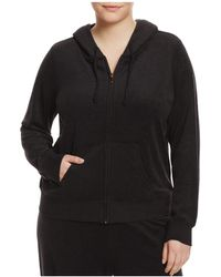 Juicy Couture - Juicy Couture Black Label Robertson Microterry Zip Hoodie - Lyst