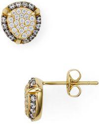 Nadri - Jasmine Pavé Cluster Stud Earrings - Lyst