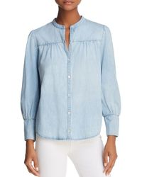Joie - Aubrielle Chambray Shirt - Lyst