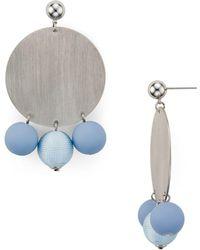 Rebecca Minkoff - Circle Bauble Earrings - Lyst