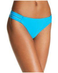 Pilyq - Stitched Side Bikini Bottom - Lyst