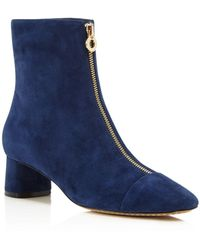 Tory Burch | Caterina Zip Booties | Lyst