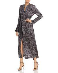 Equipment - Connell Leopard-printed Silk Dress - Lyst