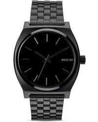 Nixon | Time Teller Stainless Steel Bracelet Watch 37mm A045 | Lyst