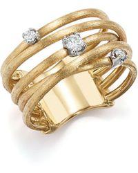 Marco Bicego - 18k Yellow Gold Luce Diamond Ring - Lyst