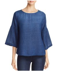 Side Stitch - Blossom Bell Sleeve Top - Lyst