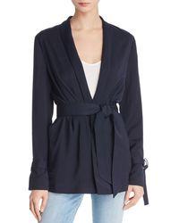 The Fifth Label - Fairway Belted Shawl-collar Blazer - Lyst