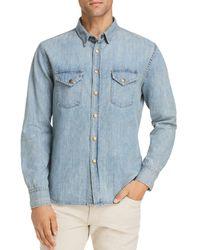 Billy Reid - Distressed Sport Shirt - Lyst