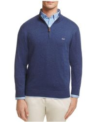 Vineyard Vines - Quarter-zip Sweater - Lyst